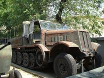 Sd.Kfz. 9 on display at the National Military Museum, Bucharest.