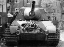 Jagdtiger front view.