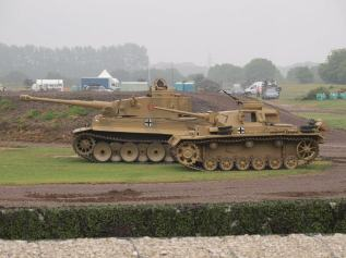Bovington Tiger 131 and Panzer III comparison.
