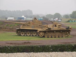 Bovington Tiger 131 and Panzer III comparison.