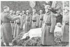 Funeral for fallen soldat.