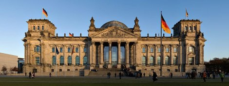 Modern View of the Reichstag.