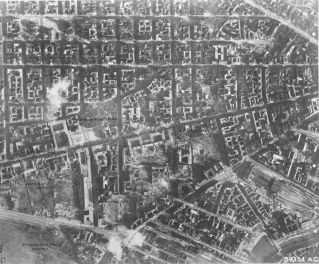 Bombed out Berlin.