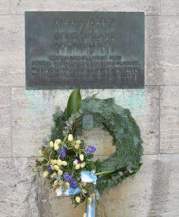 Memorial at Bendlerblock.