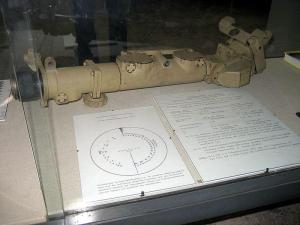 Turmzielfernrohr TZF 9c gun sight for the Tiger 1.