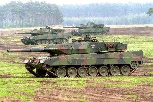 Leopard 2 A5.