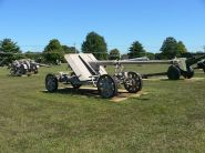 Pak 43 on cruciform mount, in towing configuration.