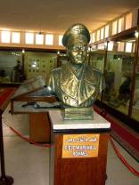 Rommel statue at war museum in Egypt.