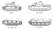 Early development prototypes.