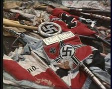 Symbols left over from the Third Reich.