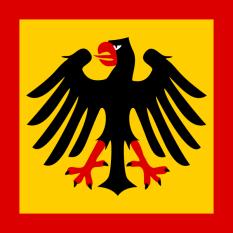 1921–1926 Standard of the President.