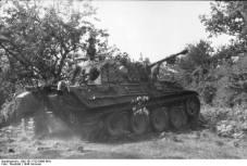 Panther in bocage, Summer 1944, France.
