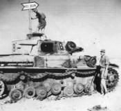 Knocked out Afrika Korps Panzer IV Ausf E.