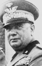 General Alfredo Guzzoni, Supreme Commander of Italo-German forces in Sicily.