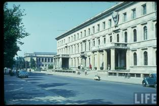 Amerika Haus, (formerly Führerbau). Perhaps in the late 1950's.