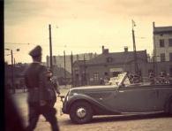 An official visit of Heinrich Himmler in the Łódź Ghetto, Thursday, 5 June 1941
