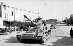 Panzer IV's in Athens, Greece.