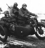 BMW with sidecar.