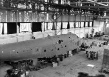 Blohm & Voss BV222 Wiking in Hamburg 1945.