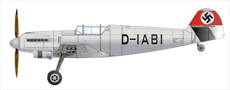 A drawing of the V1 prototype.