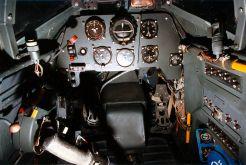 Bf 109 Gustav cockpit.
