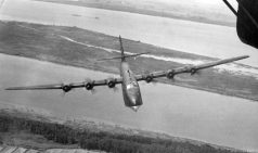 Blohm & Voss BV222 Wiking in flight.