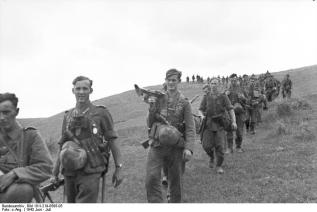 German infantry in June 1943.