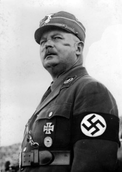Ernst Röhm, SA Chief of Staff, was shot on Hitler's orders, after refusing to commit suicide, in the Night of the Long Knives purge in 1934.