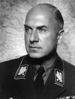Reich Minister Fritz Todt in SA uniform, 1940.