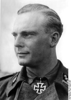 SS Sturmbannführer Ernst Dehmel