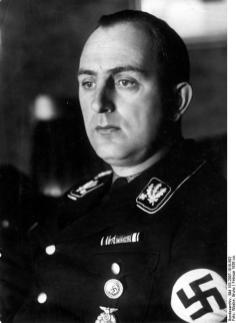 Daluege as an SS-Obergruppenführer, February 1936; wearing the pre-April 1942 rank insignia.