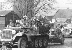 German troops in Breslau on 2 February 1945.
