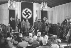 Field Marshall Erwin Rommel's funeral.