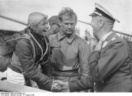 Reitsch in 1936 at Wasserkuppe.