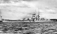 Battleship Gneisenau.