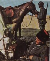 Cossack cavalry.