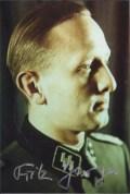 Fritz Darges as an SS-Hauptsturmführer.