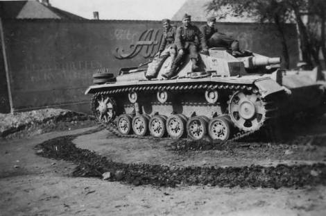 StuG III with Zimmerit, Denmark 1944.