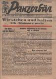 The Panzerbär battle sheet.