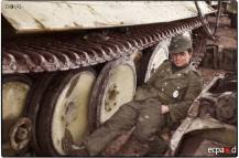 Afrika Korps relaxing before the storm in Tunisia.