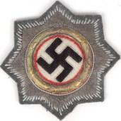 German Cross patch.