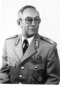 Lieutenant Colonel in the Bundeswehr.