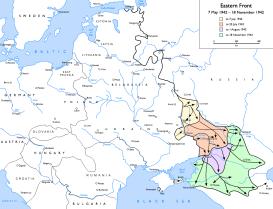 German advances in summer of 1942.