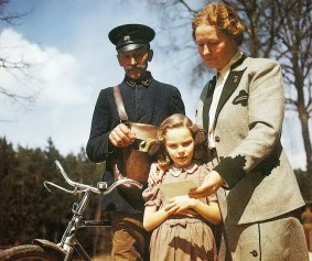 Edda and her mother receive a letter from Herman during the Nuremburg Trials.