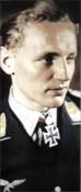 Erich Hartmann as a Leutnant.