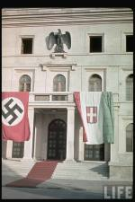 Führerbau, Hitler's official residence in Munich, September 1938.