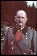 Reichsstatthalter und Charakter als Generaloberst Franz Ritter von Epp in Sudetenland