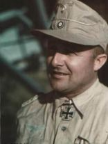 General der Flieger Hans Seidemann in tropical uniform.