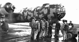 He 177 'Greif' and crew.