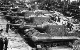 Jagdtiger production plant in Germany,1945.